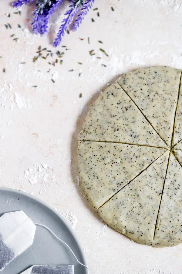 Earl Grey Lavender Homemade Scones