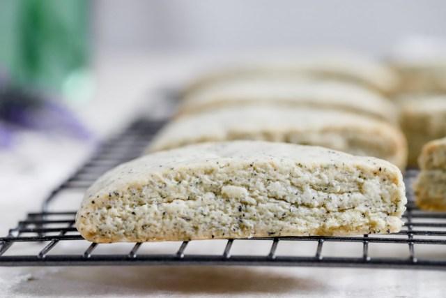 Earl Grey Lavender Food Processor Scones