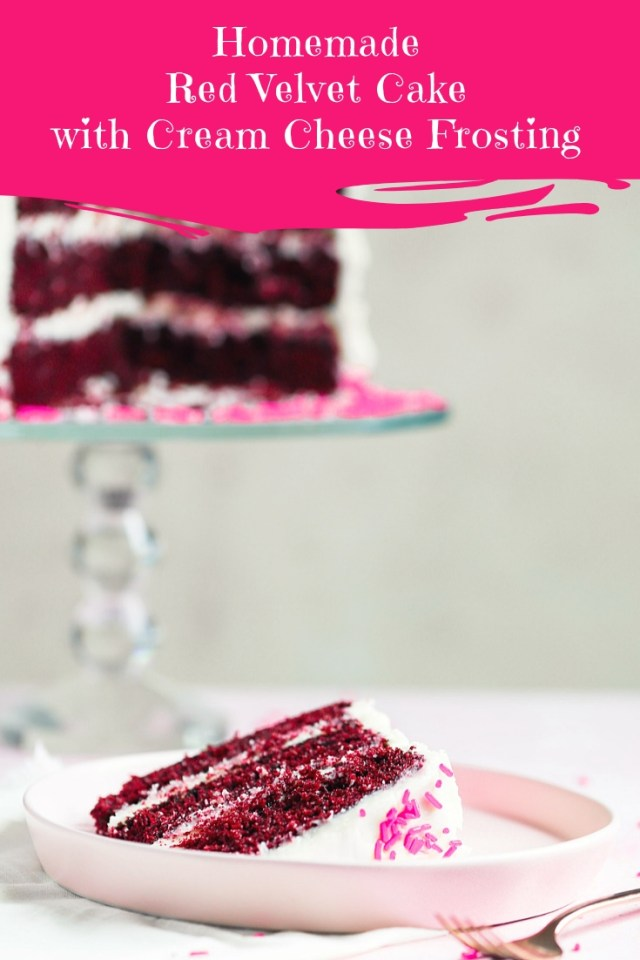 Homemade Red Velvet Cake