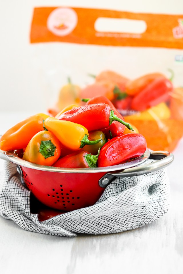Divine Flavor Tribelli Mini Sweet Peppers