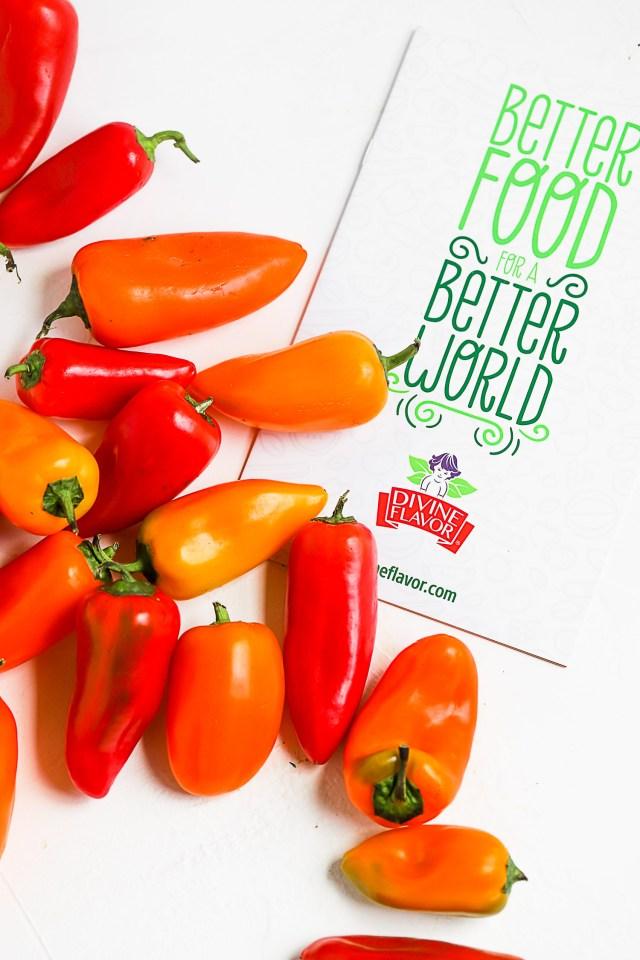 Divine Flavor Tribelli Mini Peppers