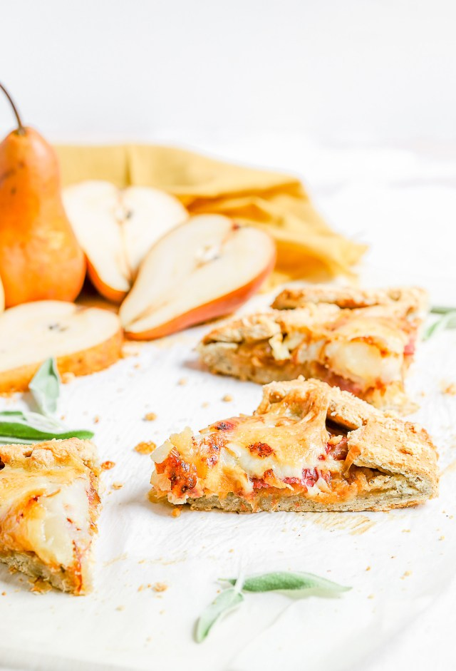 Savory Pear Galette