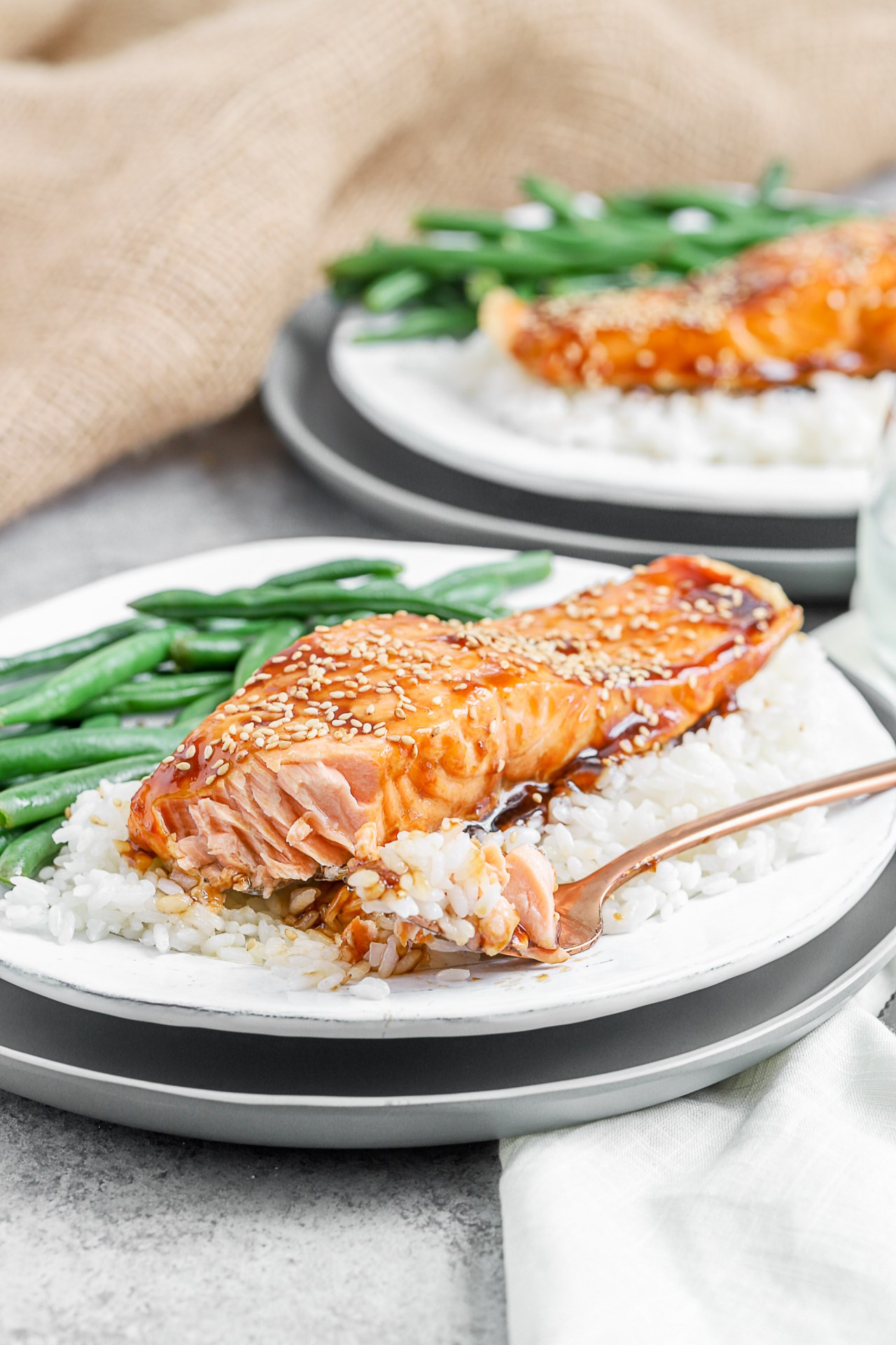 10 Minutes Maple Crusted Salmon