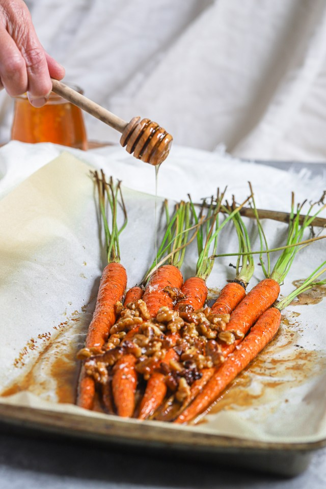 Brown Butter Honey Glazed Carrots