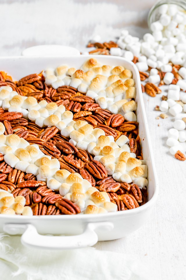 Brown Sugar Sweet Potato Casserole