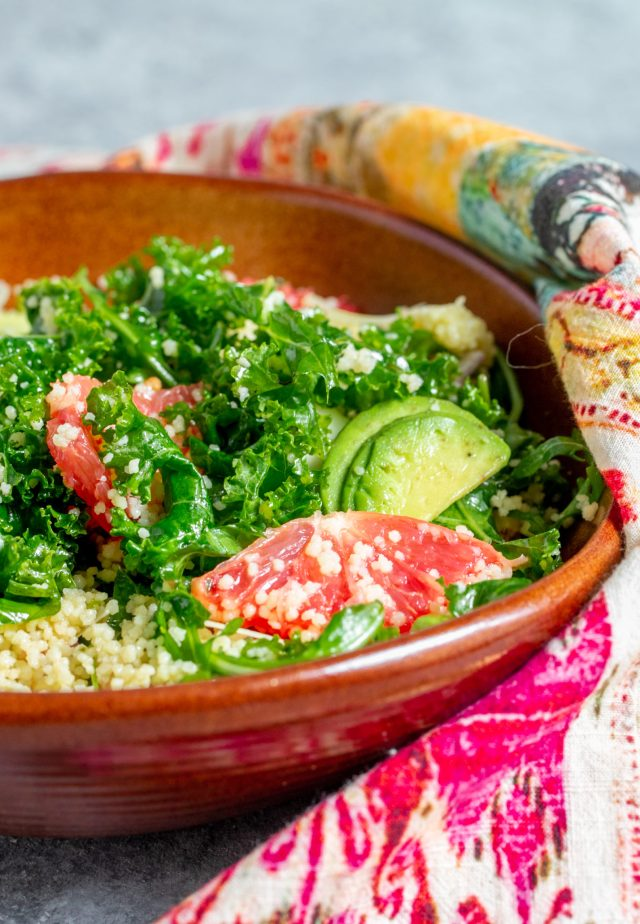 Near East Couscous Grapefruit Salad