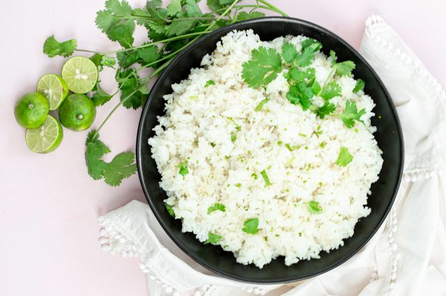 Coconut Lime Jasmine Rice