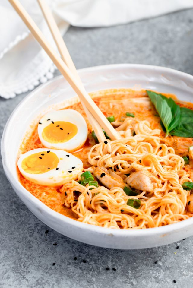 Thai Red Curry Ramen