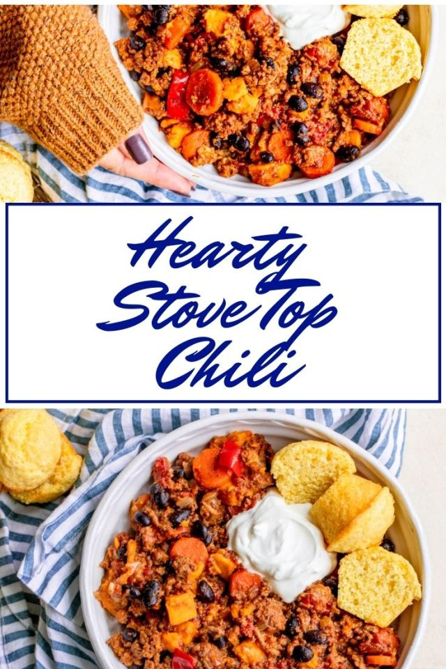 Hearty Stove Top Chili