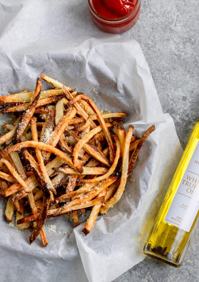 Air Fryer Fries with White Truffle Fries