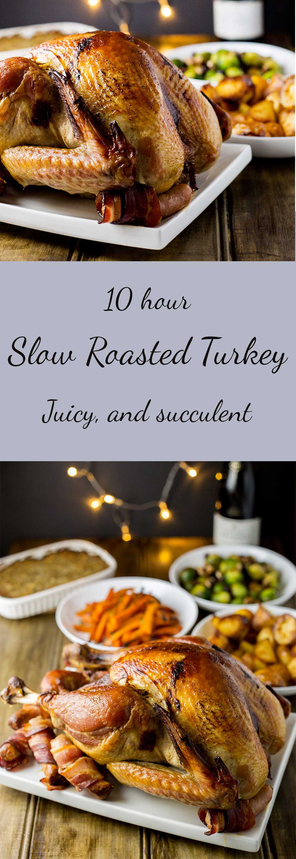 Slow Roasted Turkey Sprinkles And Sprouts