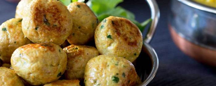 Indian Spiced Chicken Meatballs