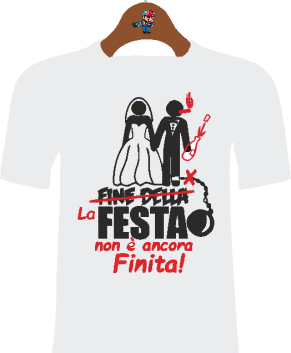 T-Shirt Addio al celibato