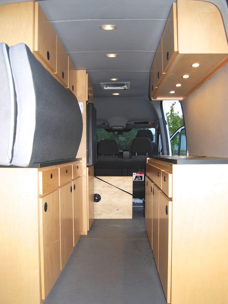 Diy Sprinter Camper Van Kids Great Road Trips