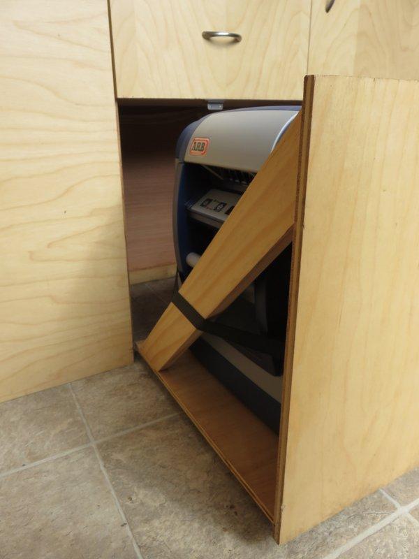 Feeding Station Build (ie the Kitchen) – Sprinter Van Diaries