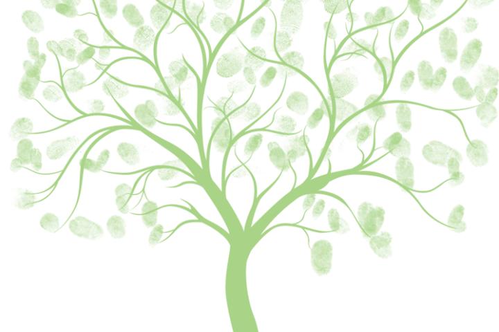 free wedding thumb tree download