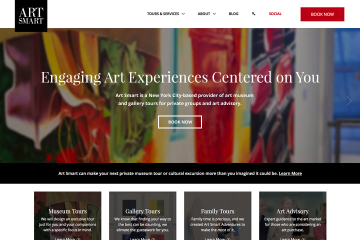 Art Smart Custom Web Design Temecula