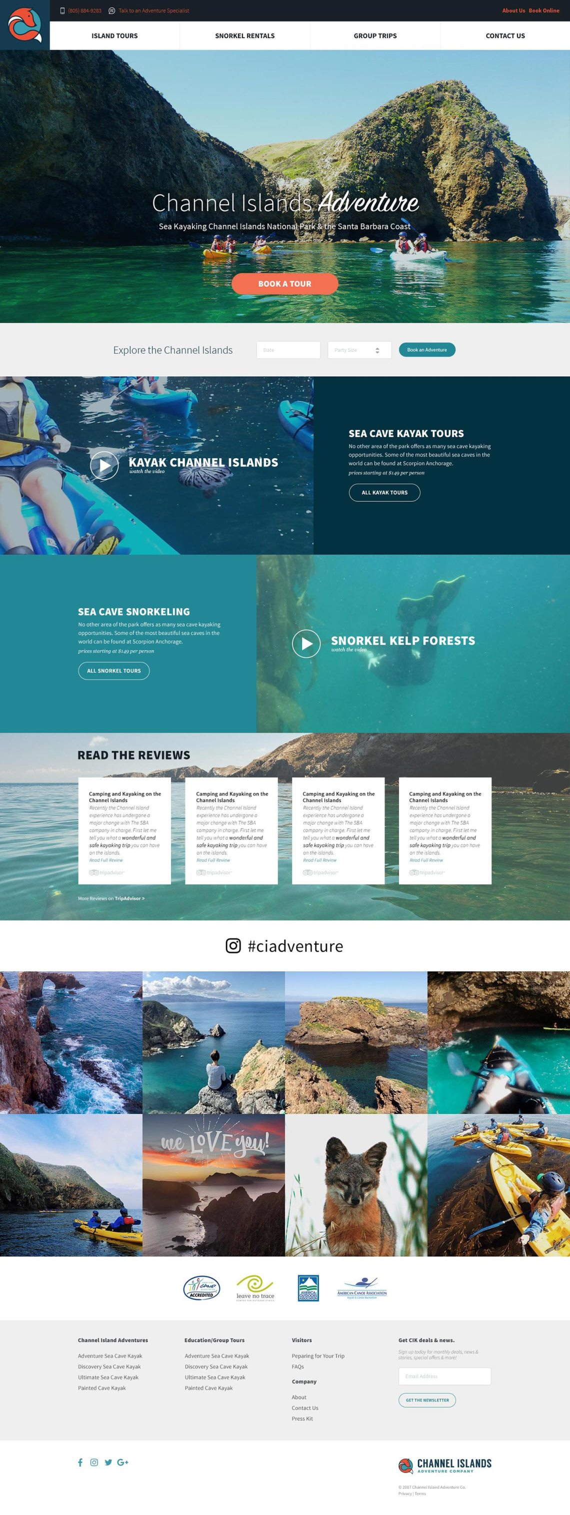 channel island kayak and scuba rentals