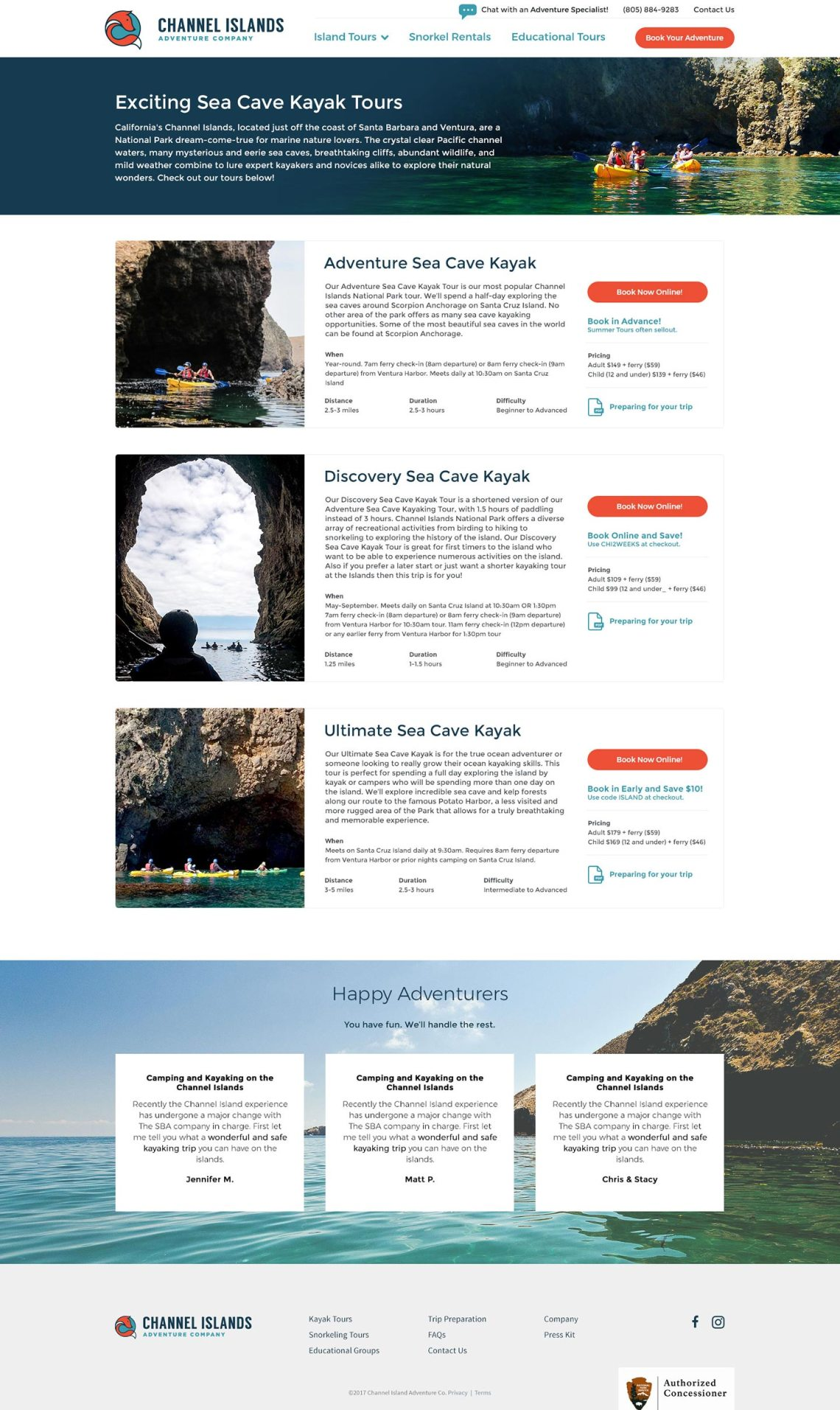 web design for tour and travel companies