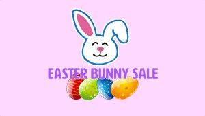 EASTER Bunny Sale 2016