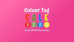 Sprog Store - Colour Tag Sale