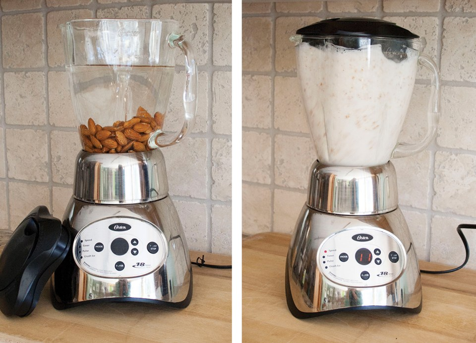 AlmondMilk_Blender