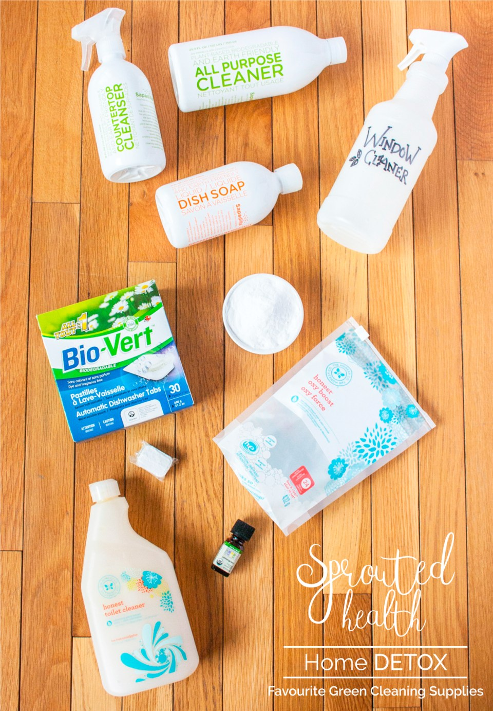 My Favourite Green Cleaning Products