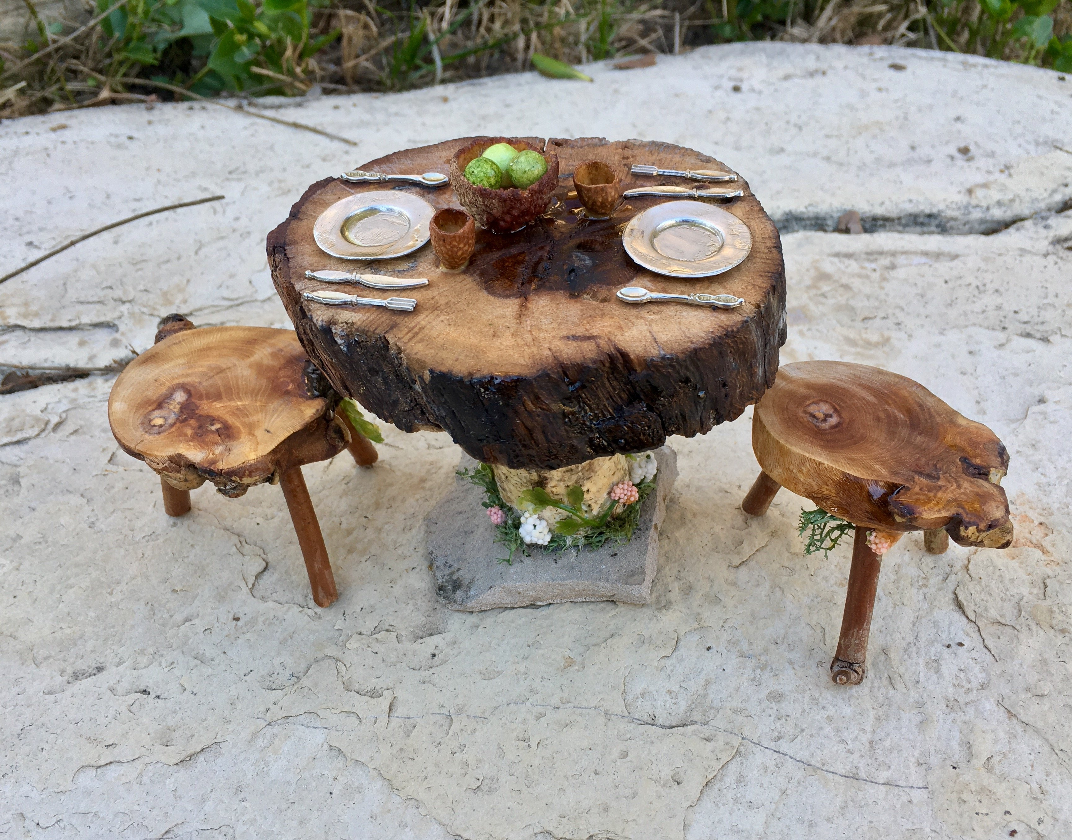 Fairy Dining Set by Sprouted Dreams