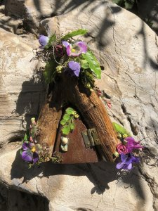 Indoor Fairy Door in the Enchanted Entrance Collection