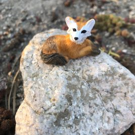 Fox for Fairy Garden