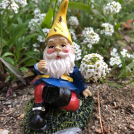 Seated Garden Gnome