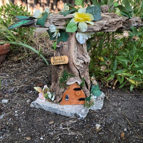 Beautiful Woodland Fairy House by Sprouted Dreams