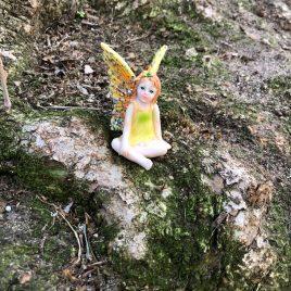 Yellow Glitter Fairy