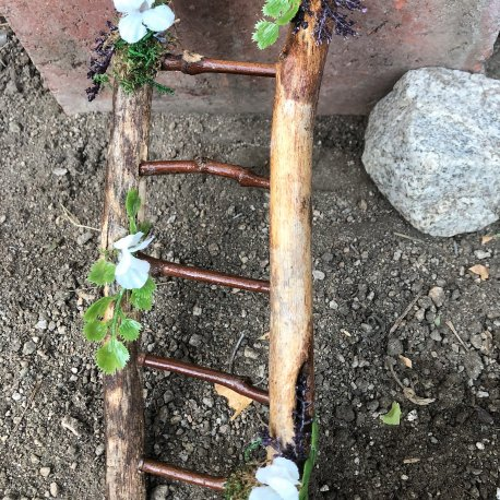 Fairy Garden Ladder handmade by Sprouted Dreams (5)