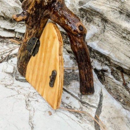 Natural Wood Fairy Door9