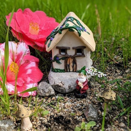 Gnome Cottage Handmade by Sprouted Dreams6