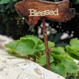 Blessed Fairy Garden Sign