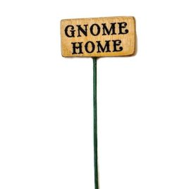 Gnome Home Sign
