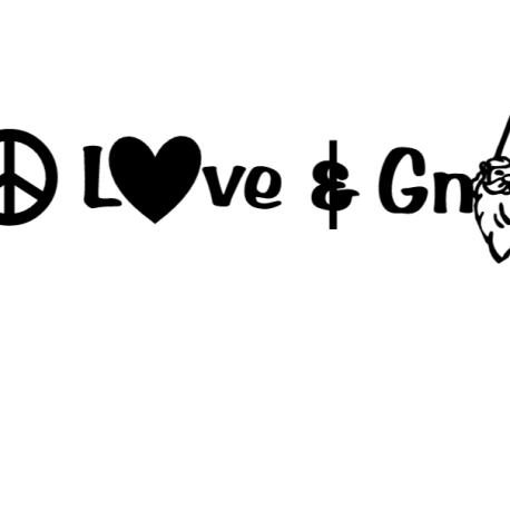 peace, love and Gnomes