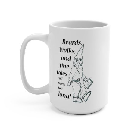 Long Bearded Gnome Mug from Sprouted Dreams