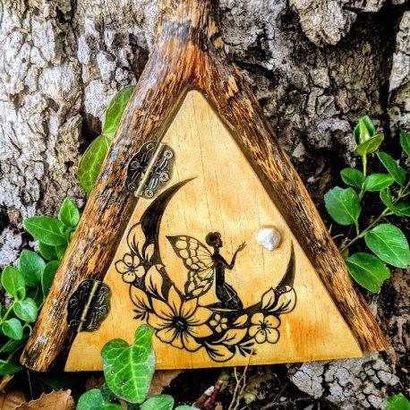 Fairy Moon Tree Door