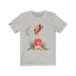 Toadstool Fairy with sprinkles T-shirt