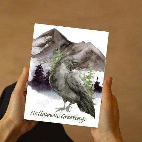 Print at home Raven
