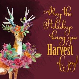 Harvest of Joy Christmas Card
