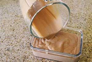 Banana Cacao Ice cream