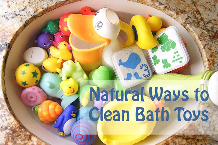 Sanitizing Bath Toys Naturally : Bleach to water ratio for cleaning toys wow