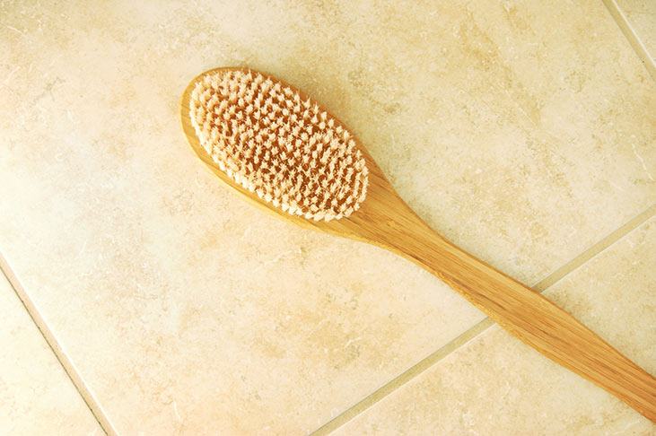 Dry Brushing Brush
