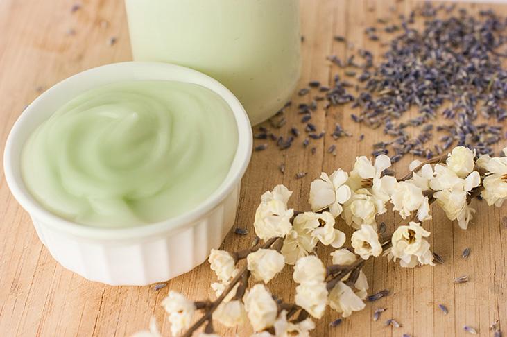 Creamy Homemade Body Lotion