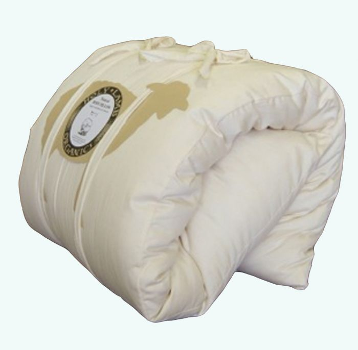 organic full body pillow with cover