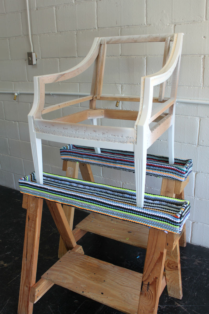 SPRUCE Upholstery Spruce Upholstery Tip Padding Sawhorses